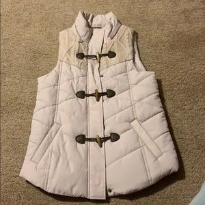 Puffer vest coat. Maurices. Size S.